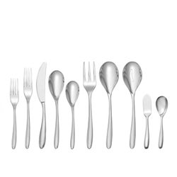 Nambe Bend 45-Piece Stainless Flatware Set