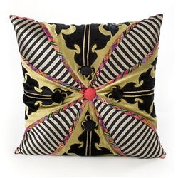 MacKenzie-Childs Portobello Road Square Pillow