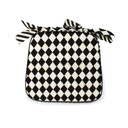 Mackenzie-Childs Courtly Harlequin Chair Cushion