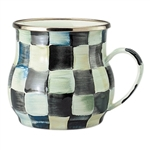 MacKenzie-Childs Enamelware Courtly Check Mug