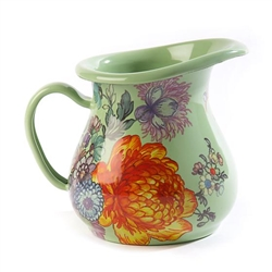 MacKenzie-Childs Flower Market Creamer - Green