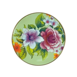 Mackenzie-Childs Flower Market Lunch/Salad Plate Green