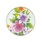 Mackenzie-Childs Flower Market Lunch/Salad Plate White