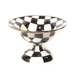 MacKenzie-Childs Courtly Check Compote Small