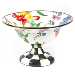 MacKenzie-Childs Flower Market Enamel Small Compote