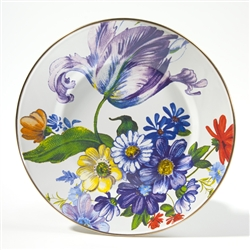 Mackenzie-Childs Flower Market Dinner Plate White