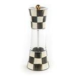 MacKenzie-Childs Courtly Check Enamel Salt Or Pepper Grinder