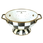 MacKenzie-Childs Enamelware Courtly Check One Quart Colander