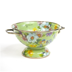 MacKenzie-Childs Flower Market Colander Green