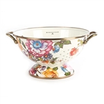 MacKenzie-Childs Flower Market Large Colander White