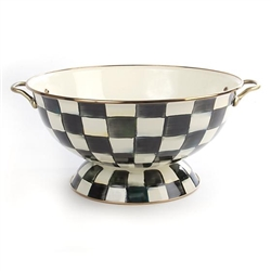 MacKenzie-Childs Enamelware Courtly Check Everything Bowl