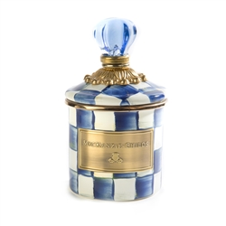 Mackenzie-Childs Royal Check Canister - Mini