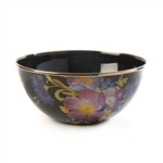 Mackenzie-Childs Flower Market Everyday Bowl - Black