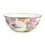 Mackenzie-Childs Flower Market Everyday Bowl Medium - White