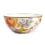 Mackenzie-Childs Flower Market Everyday Bowl Large - White
