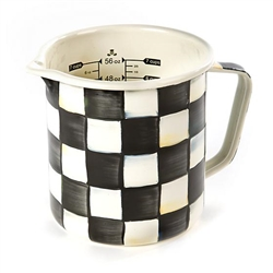 MacKenzie-Childs Courtly Check Enamel 7 Cup Measuring Cup