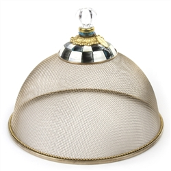 MacKenzie-Childs Small Mesh Dome Courtly Check