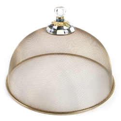 MacKenzie-Childs Large Mesh Dome Courtly Check