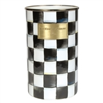 MacKenzie-Childs Enamelware Courtly Check Utensil Holder