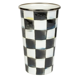 MacKenzie-Childs Enamelware Courtly Check 20 oz. Tumbler