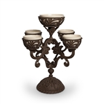 The GG Collection Metal and Ceramic Epergne