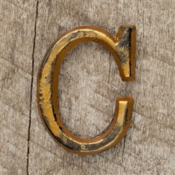 The GG Collection 1.5in Metal Letter