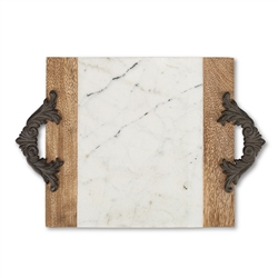 The GG Collection Medium Marble Cheese/Serving Board