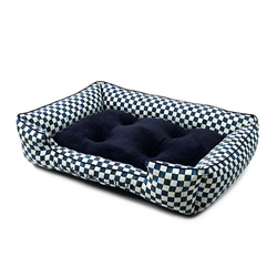 Mackenzie-Childs Royal Check Lulu Pet Bed - Large