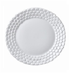 L'objet Aegean White Sculpted Bread & Butter Plate