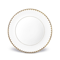 L'Objet Aegean 24kt Gold Filet Dinner Plate