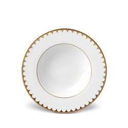 L'Objet  Aegean 24kt Gold Filet Soup Plate
