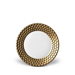 L'Objet  Aegean 24kt Gold Sculpted Bread Plate