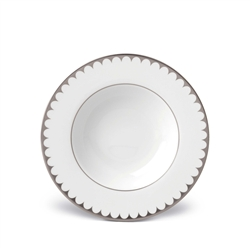 L'objet Aegean Platinum Filet Soup Plate