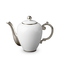 L'objet Aegean Platinum Tea/Coffee Pot