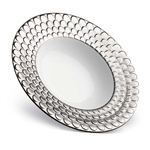 L'objet Aegean Platinum Round Serving Bowl