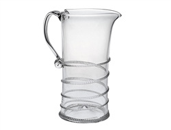 Juliska Amalia Large Pitcher Clear