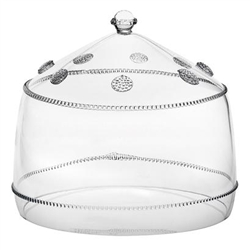Juliska Isabella Large Cake Dome Clear