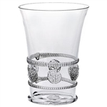 Juliska Isabella Small Mouth-Blown Tumbler Clear