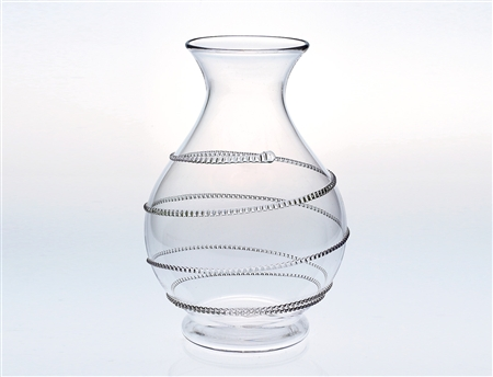 Juliska Amalia Medium Round Vase Clear