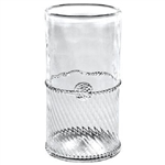 Juliska Graham Mouth-Blown Highball Glass Clear