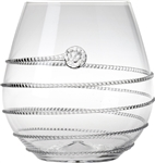 Juliska Amalia Stemless Red Wine Glass Clear