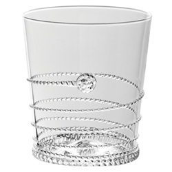 Juliska Amalia Double Old Fashion Glass Clear