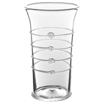 Juliska Arden Flared Column Vase Clear