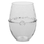 Juliska Graham Stemless Mouth-BlownWhite Wine Clear