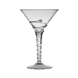 Juliska Amalia Mouth-Blown Martini Glass Clear