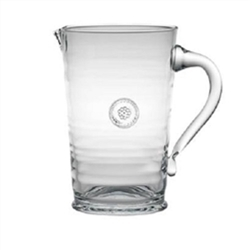 Juliska Berry and Thread Glassware Pitcher Clear