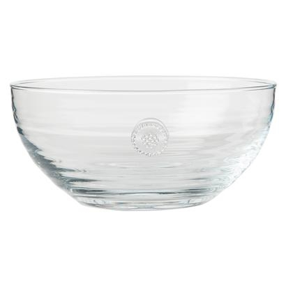 Juliska Berry and Thread Glassware Medium Bowl Clear