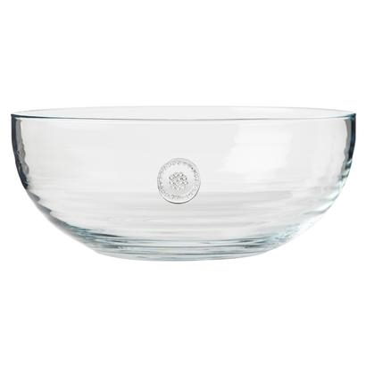 Juliska Berry and Thread Glassware Large Bowl Clear
