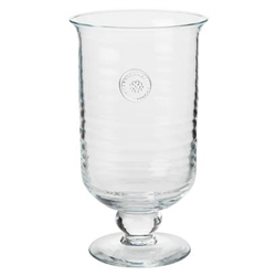 Juliska Berry and Thread Glassware Medium Hurricane Clear