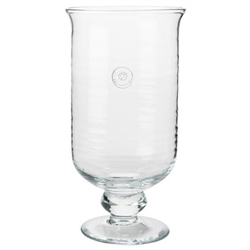 Juliska Berry and Thread Glassware Large Hurricane Clear